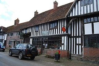 Chiddingstone Human settlement in England