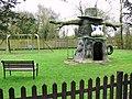 Children's playground in the Waveney Valley Holiday Park - geograph.org.uk - 1779586.jpg