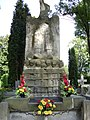 Children of Zamosc Region. Victims of Hitler's Nazi Germany. Monument in cemetery.jpg