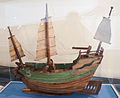China, sea junk with three masts, model in the Vatican Museums.jpg