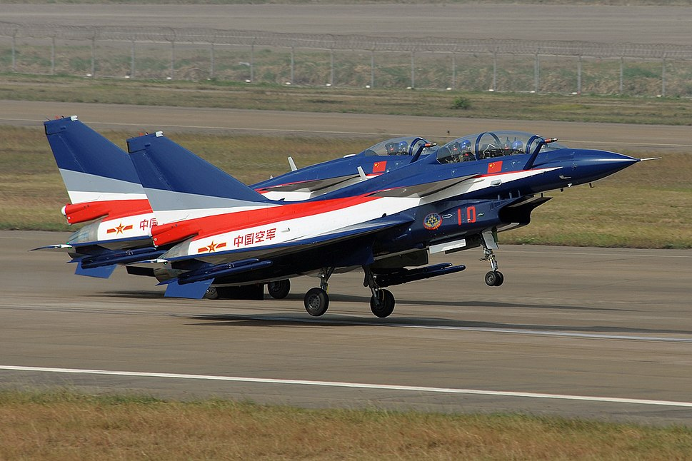 China airforce J10
