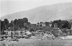 Shuja ul-Mulk - The Chitral Fort during the Siege of Chitral (1895)