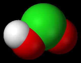 Chlorous acid chemical compound
