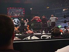 Chris Benoit and Rikishi - King of the Ring 2000.jpg