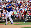 Chris Young delivers a pitch (25592858542).jpg