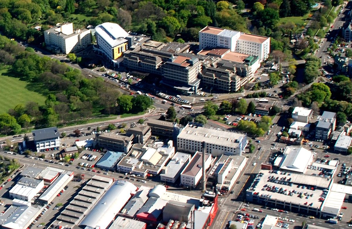 New Zealand Location >> Christchurch Hospital - Wikipedia