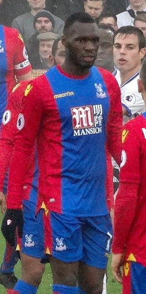 Christian Benteke - Benteke playing for Crystal Palace in 2016