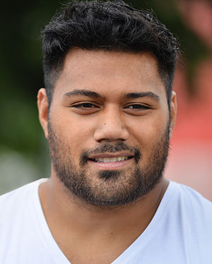 Christopher Tolofua - Image: Christopher Tolofua 2014 (cropped)