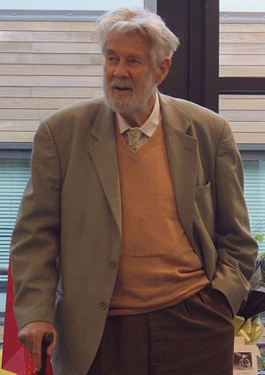 Christopher Zeeman - Zeeman at the Warwick Mathematics Institute in December 2009