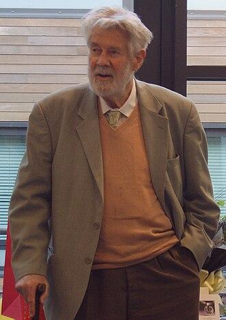 Christopher Zeeman - Zeeman at the Warwick Mathematics Institute in December 2009