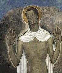 Le Christ montrant ses plaies