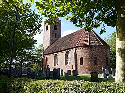 Thirteenth century church in Jistrum