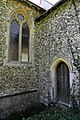 Church of St Martin White Roding Essex England - vestry door.jpg