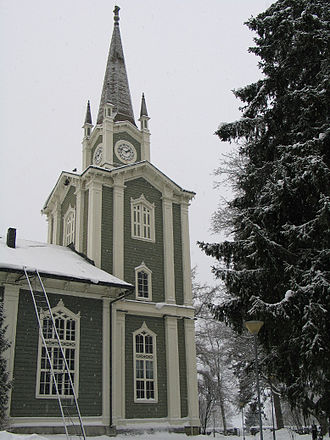 Urjala - Image: Churchofurjala
