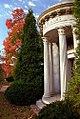 """Cincinnati - Spring Grove Cemetery & Arboretum """"Alms Mausoleum in Autumn"""" (5101860924).jpg"""