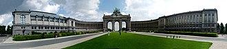 Cinquantenaire - Image: Cinquantenaire Park panorama