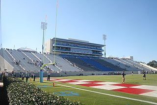 Johnson Hagood Stadium is an 11,500-seat football stadium in Charleston, South Carolina, USA