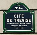Citee de Trevise - Plaque rue.jpg