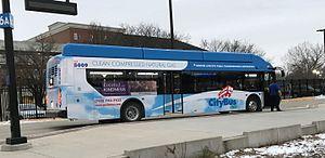 Greater Lafayette Public Transportation Corporation - Image: City Bus 5009
