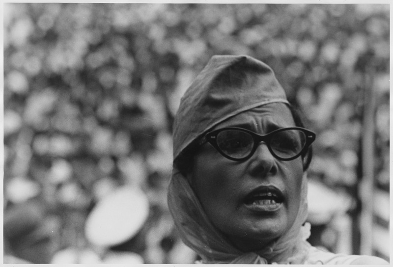 Civil Rights March on Washington, D.C. (Actor Lena Horne, a close-up view.) - NARA - 542057