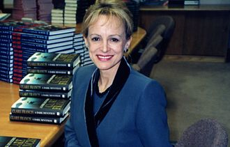 Clare Francis - Clare Francis at a book signing in 2008.