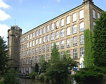 Clarence Mill, and the Macclesfield Canal