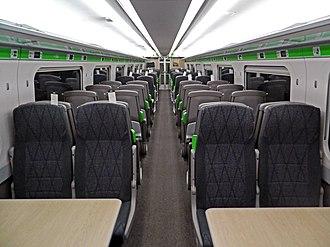 British Rail Class 802 - Image: Class 802 Interior