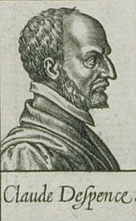 Claude DEspence 16th-century French theologian