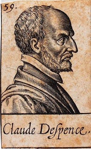 Claude D'Espence - Image: Claude d'Espence estampe de Léonard Gaultier