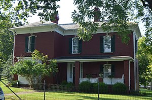 National Register of Historic Places listings in Jackson County, West Virginia - Image: Clerc Carson House