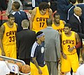 Cleveland Cavaliers huddle on November 17, 2012.jpg