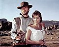 """Clint Eastwood and Marianne Koch in """"A Fistful of Dollars"""" (1964).jpg"""