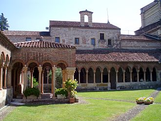 Basilica of San Zeno, Verona - Cloister at San Zeno