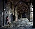 Cloister of the University of Bergamo. Italy.jpg