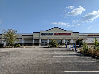 Sears - A closed Sears Hardware in Windham, Connecticut. (Closed in May 2016)
