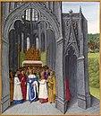 Clovis II exempte l'abbaye de Saint-Denis.jpg