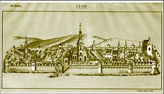 History of Cluj-Napoca - The town in 1759