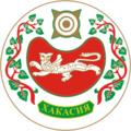 Coat of Arms of Khakassia (2001).png