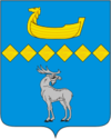 Coat of arms of Parfinas rajons