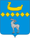 Coat of Arms of Parfinsky rayon (Novgorod oblast).png