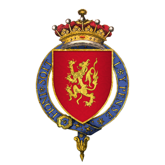 Thomas FitzAlan, 12th Earl of Arundel - Arms of Sir Richard FitzAlan, 11th Earl of Arundel, KG