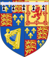 Coat of arms of James, Duke of Cambridge (1664-1667).png