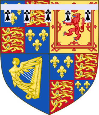 James Stuart, Duke of Cambridge - Coat of arms as Duke of Cambridge