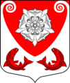 Coat of arms of Ropshinskoe rural settlement.png