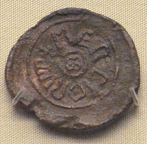 Coenwulf of Mercia - Lead bulla of king Coenwulf of Mercia. British Museum.