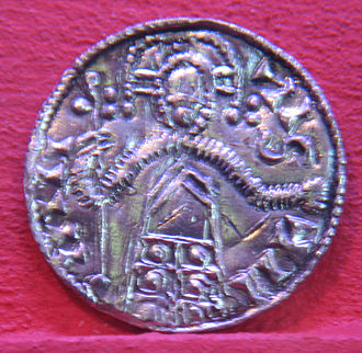 Norman conquest of England - Coin of Sweyn II of Denmark