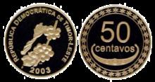 Moneta da 50 centesimi di Timor Est (2006)