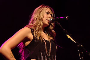Breakthrough (Colbie Caillat album) - Caillat performing at the Breakthrough World Tour.