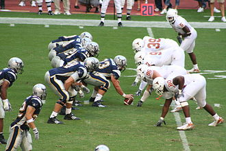 Rice Owls football - Rice and Texas play in 2006.