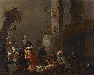 Cornelis Saftleven - College of Animals